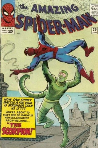 Amazing Spider-Man – #020 – The Coming of the Scorpion! Or: Spidey Battles Scorpey! chomikuj pdf