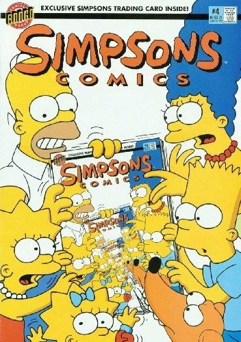 Simpsons Comics #4 – It's in the Cards; Busman chomikuj pdf